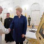 Papież w Wilnie: Moja wizyta odbywa się w szczególnym momencie