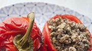 Papryka faszerowana kaszą gryczaną