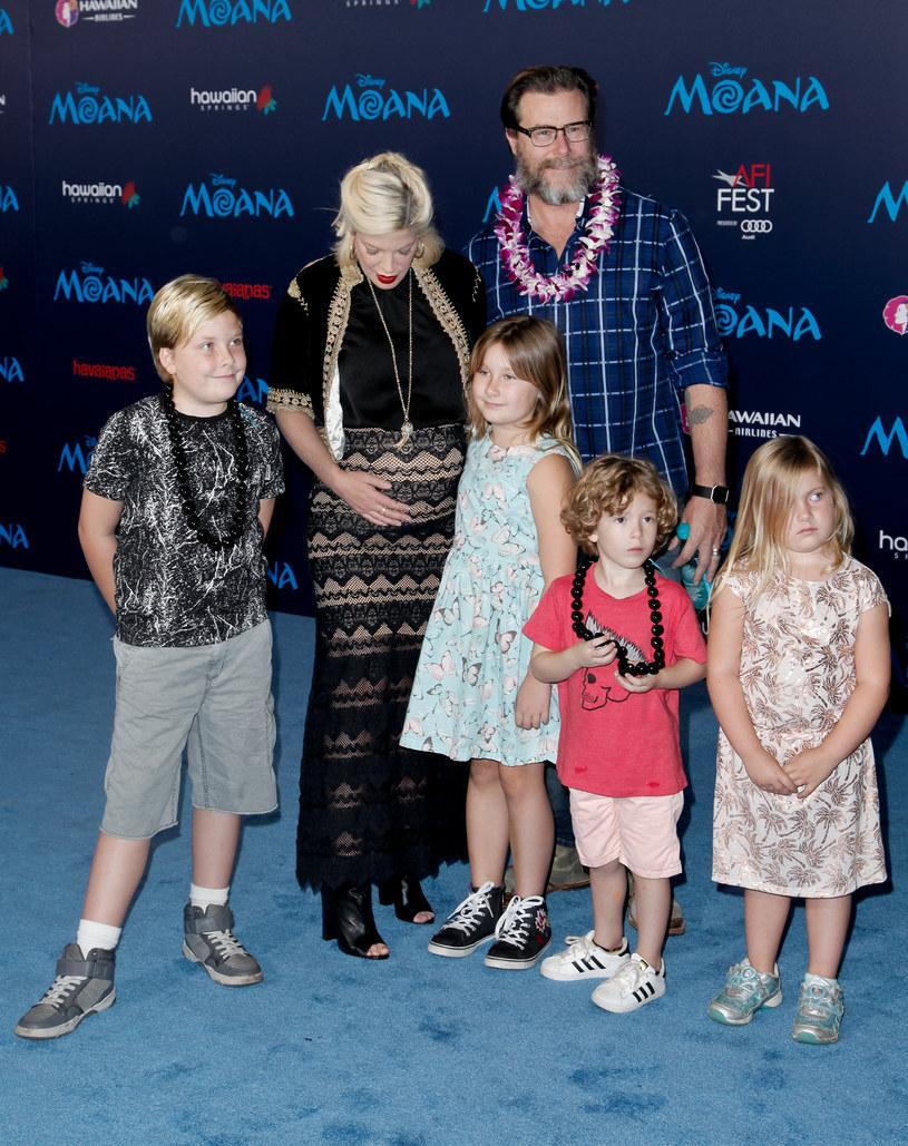 Para doczekała się razem pięciorga dzieci /Tibrina Hobson /Getty Images
