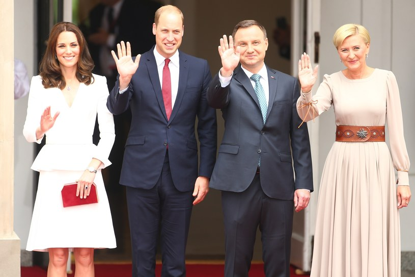 Para książęca i para prezydencka /- /East News