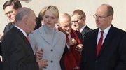 Para książęca Monako z wizytą w Krakowie