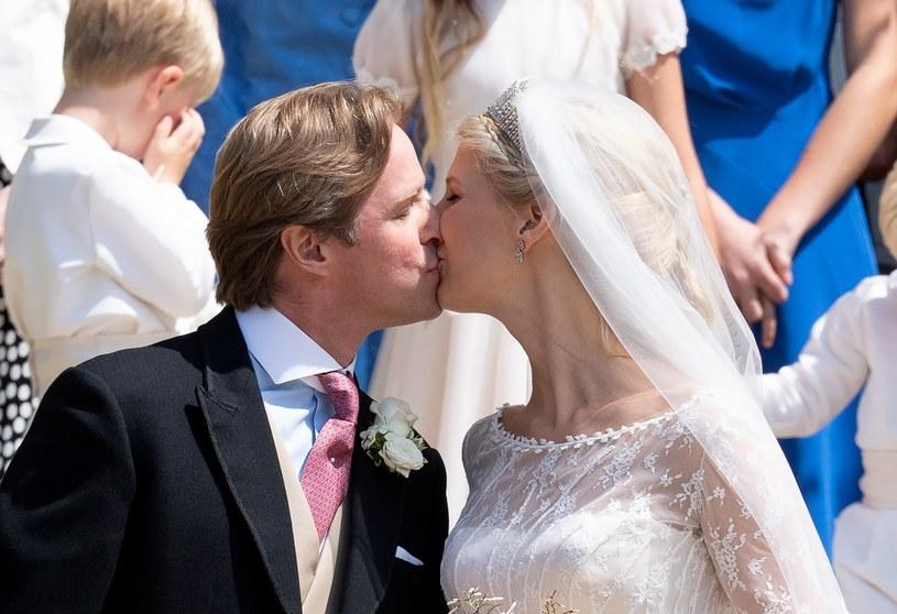 Para pobrała się w kaplicy św. Jerzego w Windsorze, a wesele odbyło się w Frogmore Cottage /SplashNews.com /East News