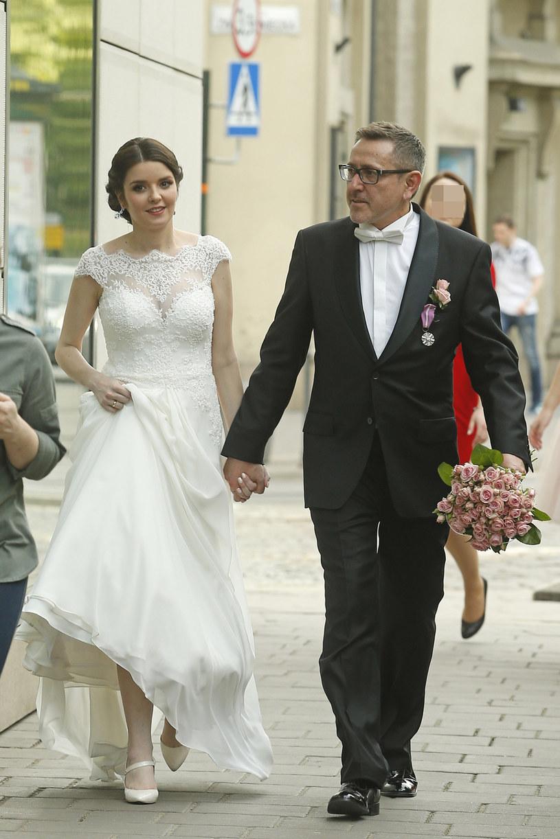 Para pobrała się w maju 2015 roku /Podlewski /AKPA