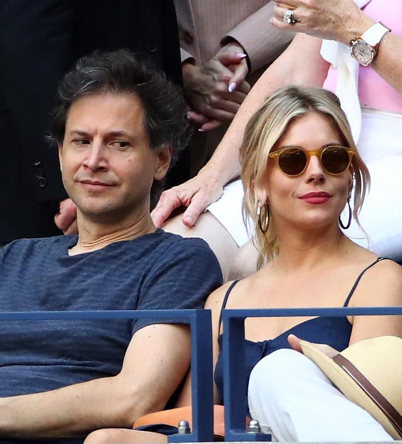 Para pojawiła się razem na trybunach US Open /Michael Heiman /Getty Images