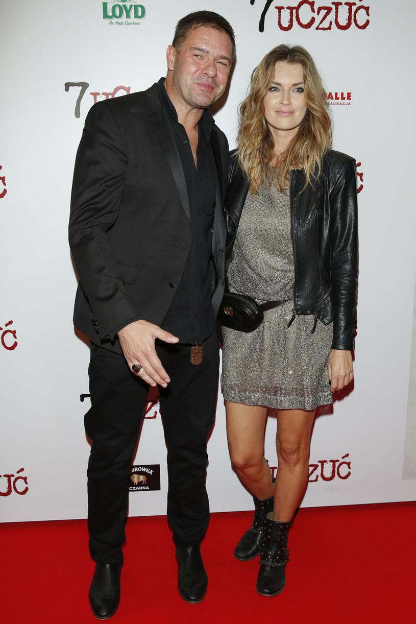 Para pokazała się razem na premierze filmowej /Podlewski /AKPA