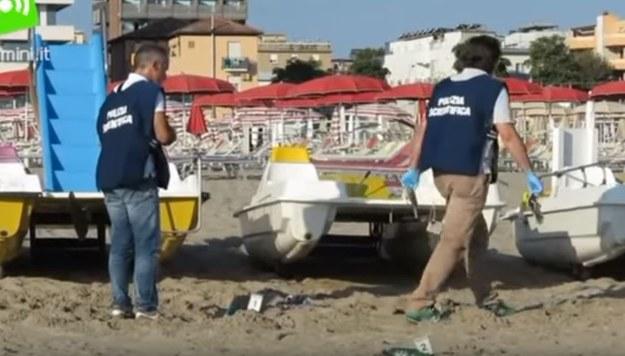 Para Polaków zaatakowana na plaży w Rimini. Kobieta wielokrotnie zgwałcona