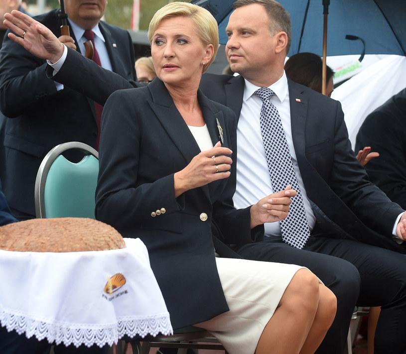 Para prezydencka - Agata i Andrzej Dudowie /Adam Chelstowski /Agencja FORUM