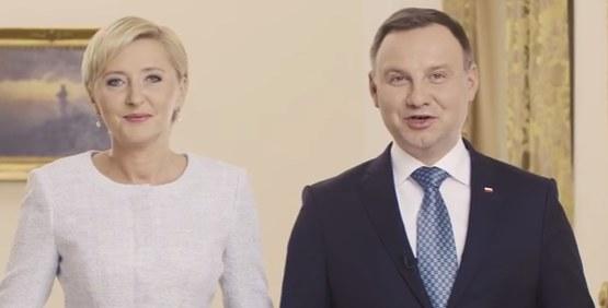 Para prezydencka, fot. YouTube /