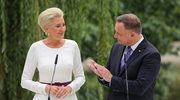 Para prezydencka podczas Narodowego Czytania w Warszawie