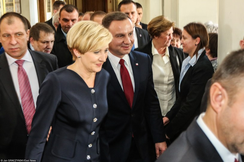 Para Prezydencka podczas wizyty w Krakowie /Jan Graczyński /East News