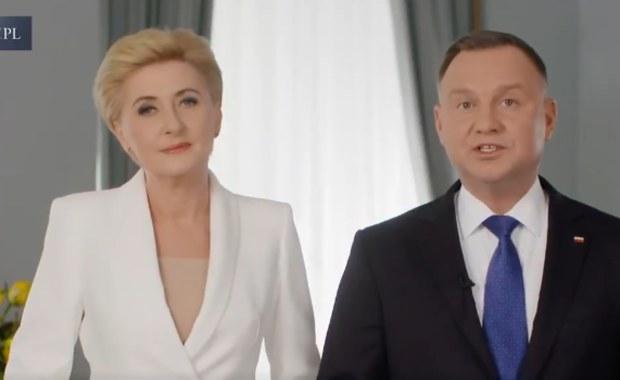 Para prezydencka składa życzenia na Wielkanoc: Zdrowia i optymizmu