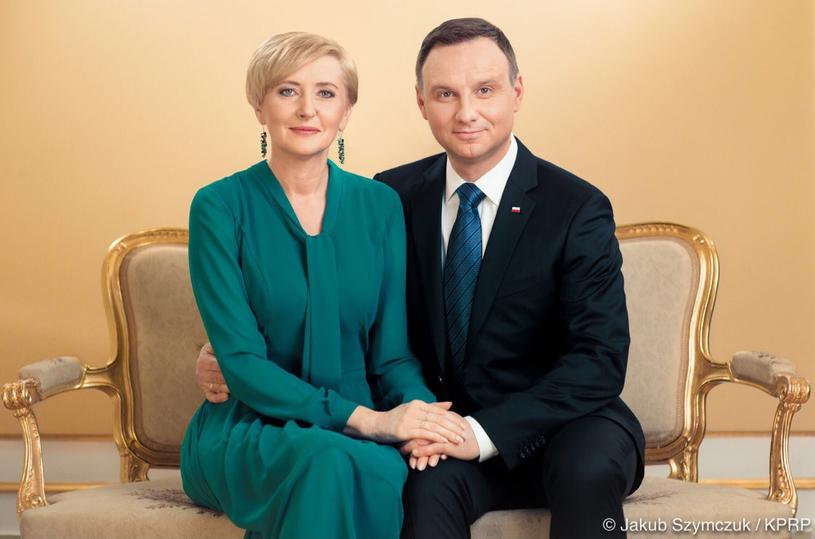 Para prezydencka w obiektywie Jakuba Szymczuka /Jakub Szymczuk/ KPRP /Twitter