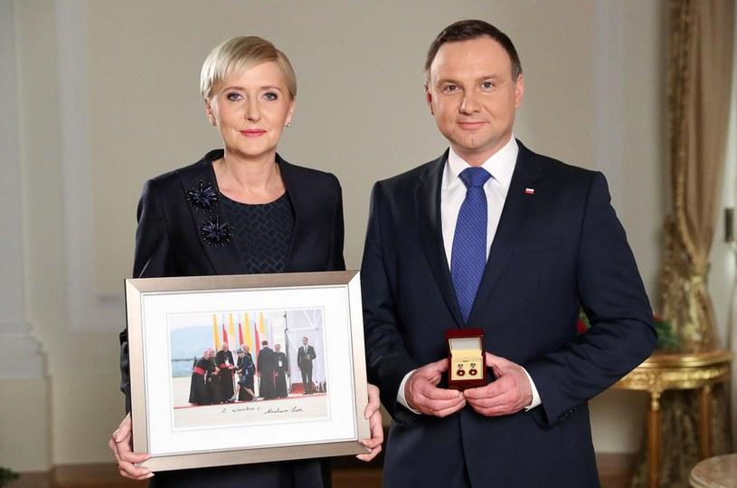 Para prezydencka wsparła WOŚP /mmagierowski /Twitter