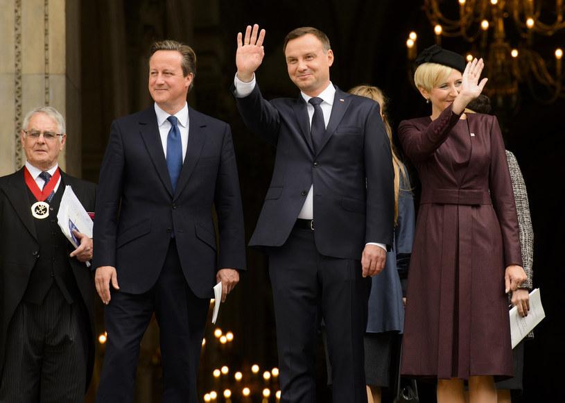 Para prezydencka z wizytą w Londynie /- /East News