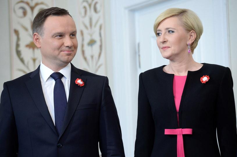 Para prezydencka /Jacek Turczyk /PAP
