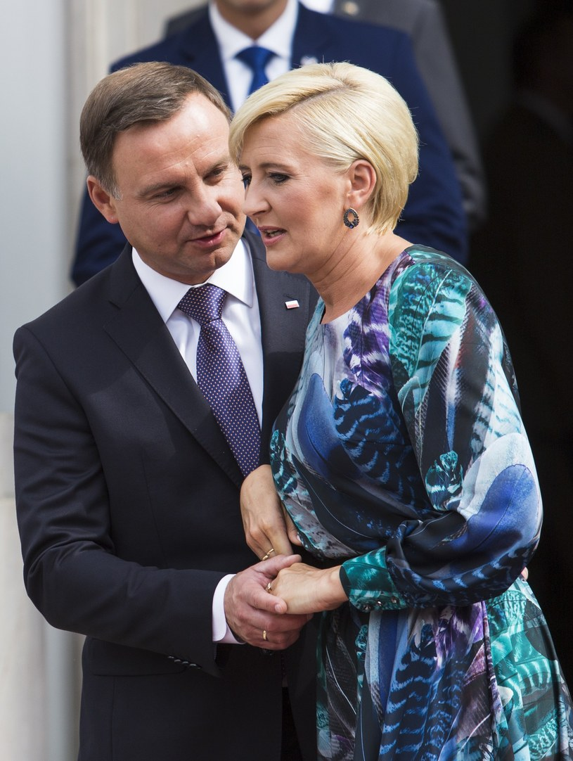 Para prezydencka /Andrzej Hulimka  /East News