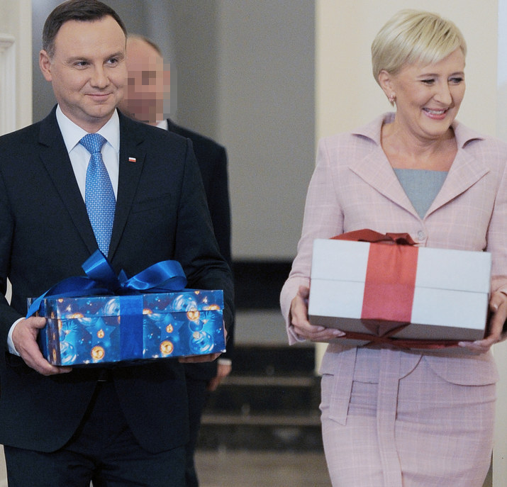 Para prezydencka /Niemiec /AKPA