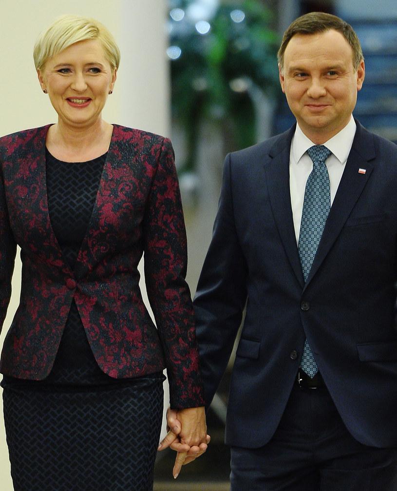 Para prezydencka /Jarosław Antkowiak /MWMedia