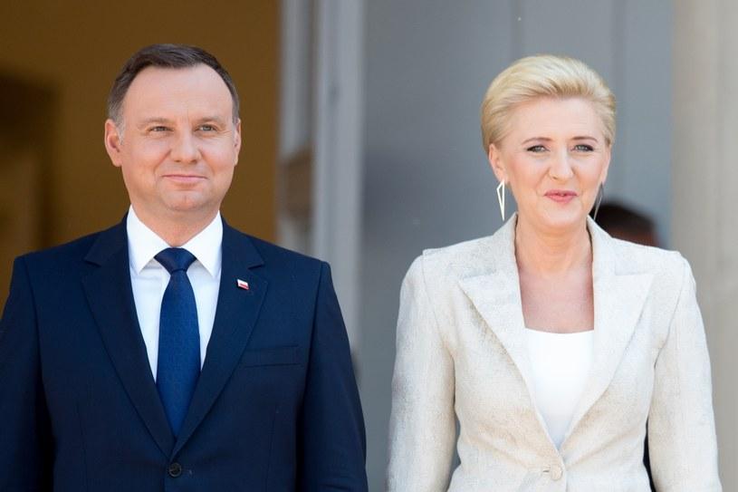 Para prezydencka /Andrzej Iwańczuk /Reporter