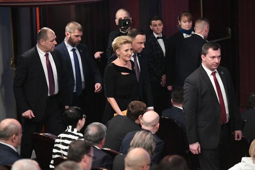 Para prezydencka /Rafał Oleksiewicz /Reporter