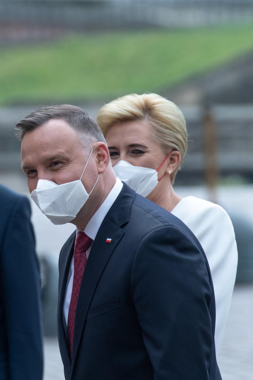 Para prezydencka /Jacek Domiński /Reporter