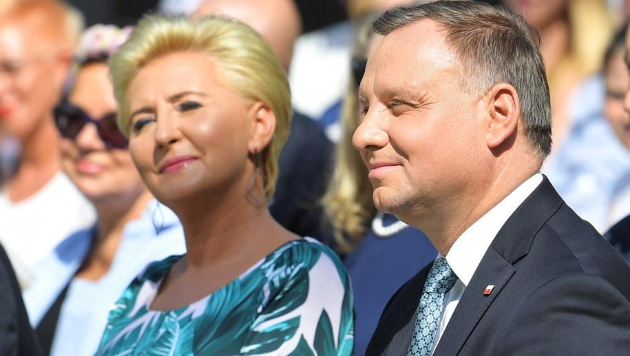 Para prezydencka / Radek Pietruszka   /PAP