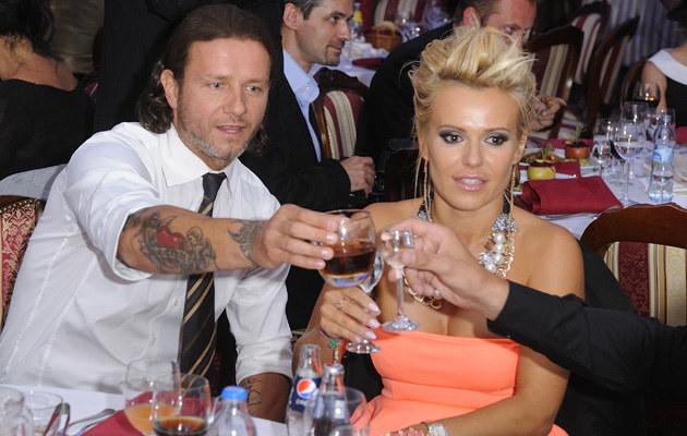 Para rozstała się w 2008 roku /Jarosław Antoniak /MWMedia