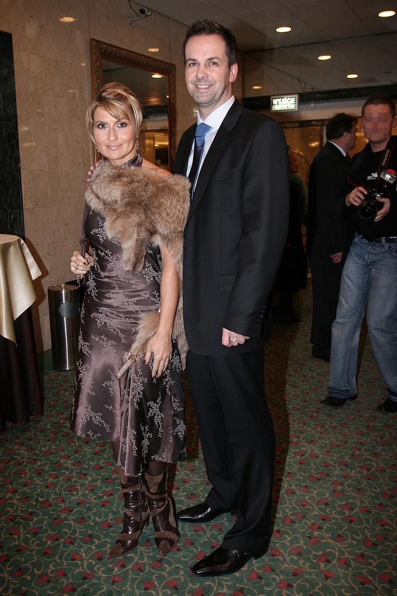 Para rozwiodła się w 2007 roku /Prończyk /AKPA
