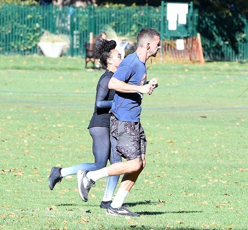 Para wybrała się razem na jogging /Agencja FORUM