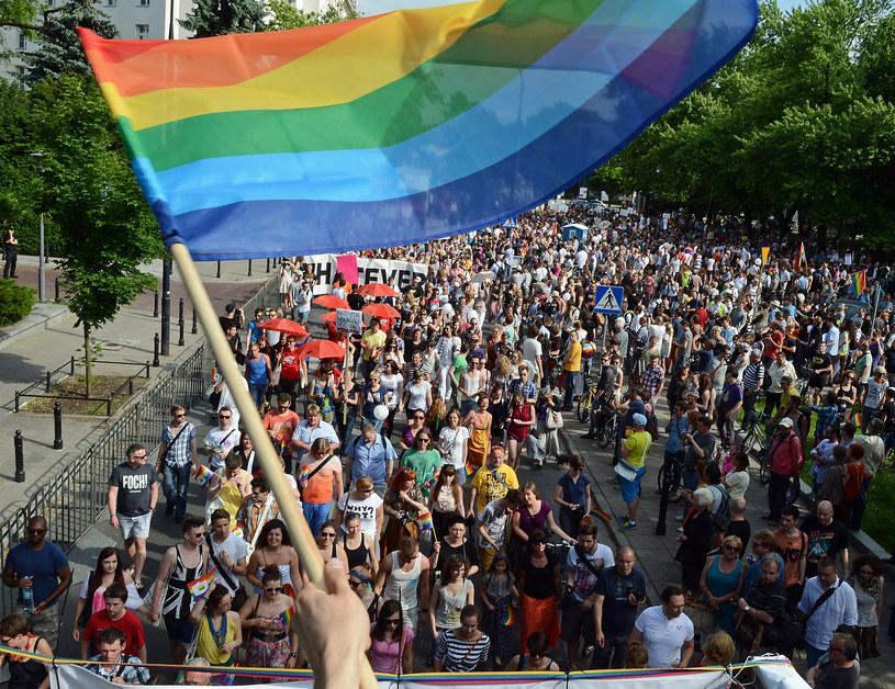 Parada równości w Warszawie /AFP