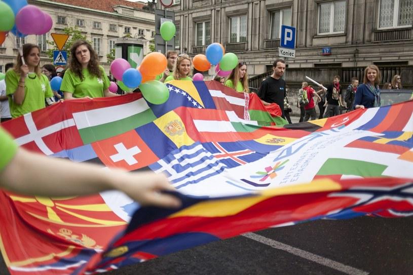 Parada Schumana w 2013 roku /Sylwester Dabrowski/REPORTER /Reporter