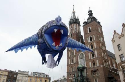 Parada smoków to nie jedyna atrakcja, Kraków nadal świętuje / fot. R. Szwedowski /Agencja SE/East News