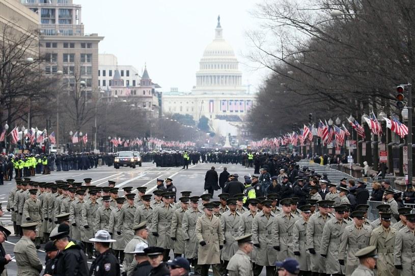 Parada w Waszyngtonie z okazji zaprzysiężenia Donalda Trumpa /Mohammed Elshamy / Anadolu Agency /East News