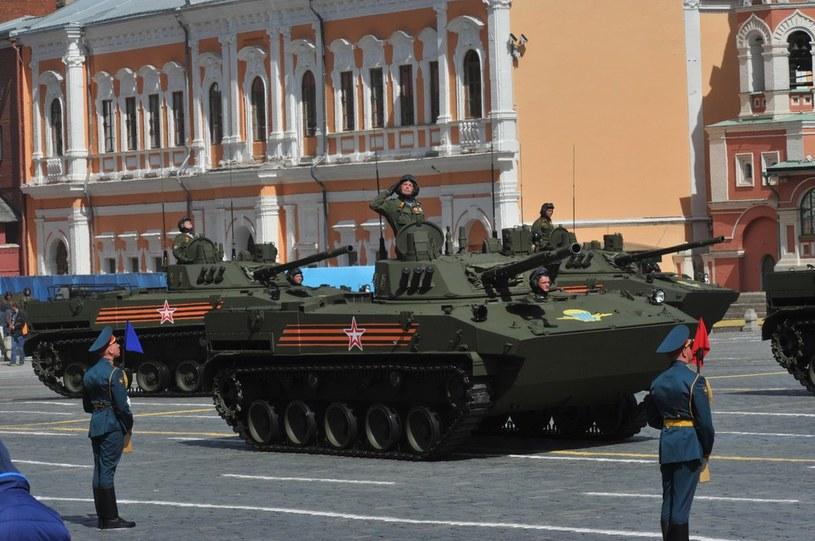 Parada wojskowa w Moskwie /Wojtek Laski /East News