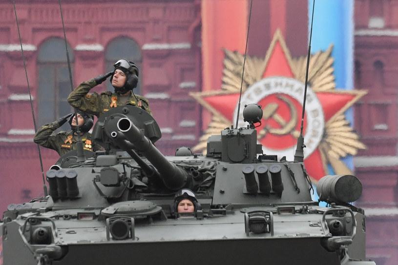 Parada wojskowa w Moskwie. /AFP