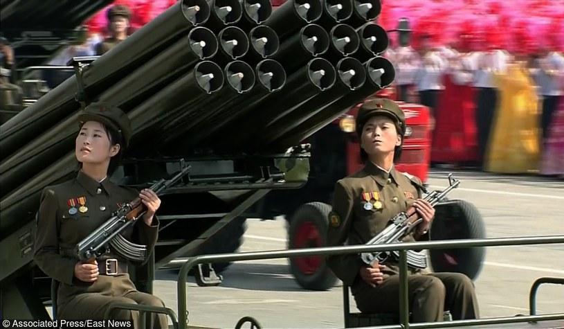 Parada wojskowa w Pjongjang - stolicy Korei Północnej /East News