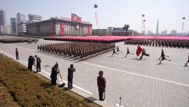 Parada wojskowa /AFP