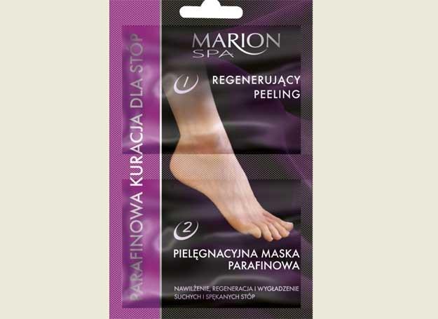 Parafinowa kuracja dla stóp firmy MARION Kosmetyki /materiały prasowe