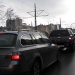 Paraliż na obwodnicy Krakowa. Wszystko przez szczyt klimatyczny