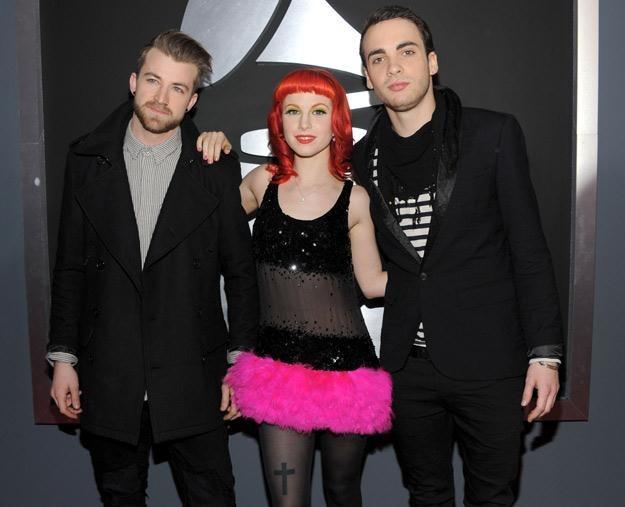 Paramore w aktualnym składzie: Jeremy Davis, Hayley Williams i Taylor York - fot. Larry Busacca /Getty Images/Flash Press Media