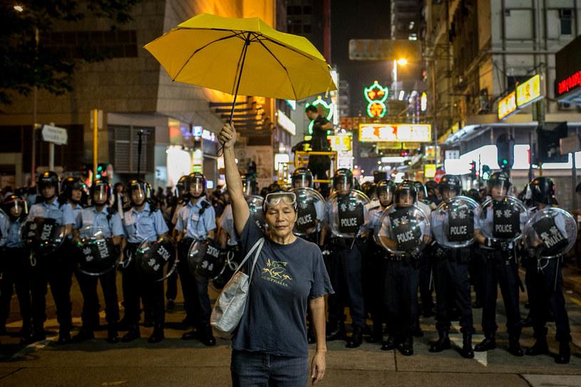 Parasolkowa rewolucja w 2014 roku /Chris McGrath /Getty Images