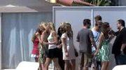 Paris Hilton: dzień na plaży