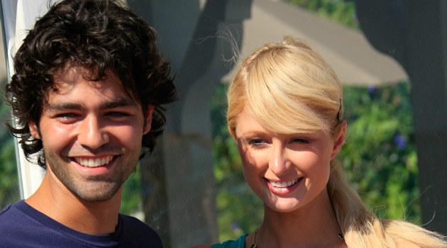 Paris Hilton i Adrian Grenier  /Splashnews