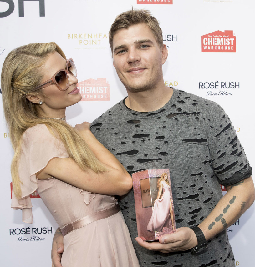 Paris Hilton i Chris Zylka, fot.Cole Bennetts /Getty Images