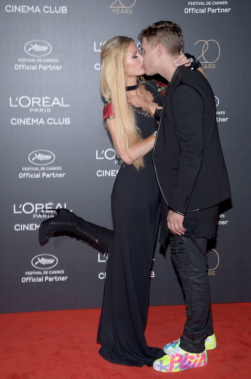 Paris Hilton i Chris Zylka /Pascal LeSegretain /Getty Images