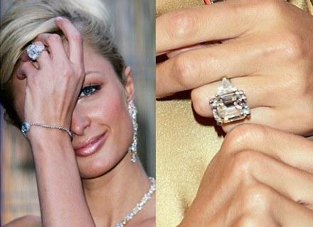 Paris Hilton i pierścionek od Parisa Latsisa /Getty Images/Flash Press Media