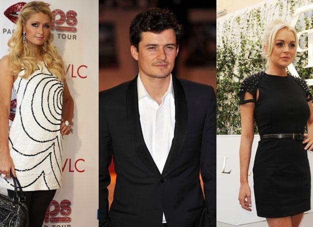 Paris Hilton, Orlando Bloom, Lindsay Lohan - wszyscy padli ofiarami gangu /Getty Images/Flash Press Media