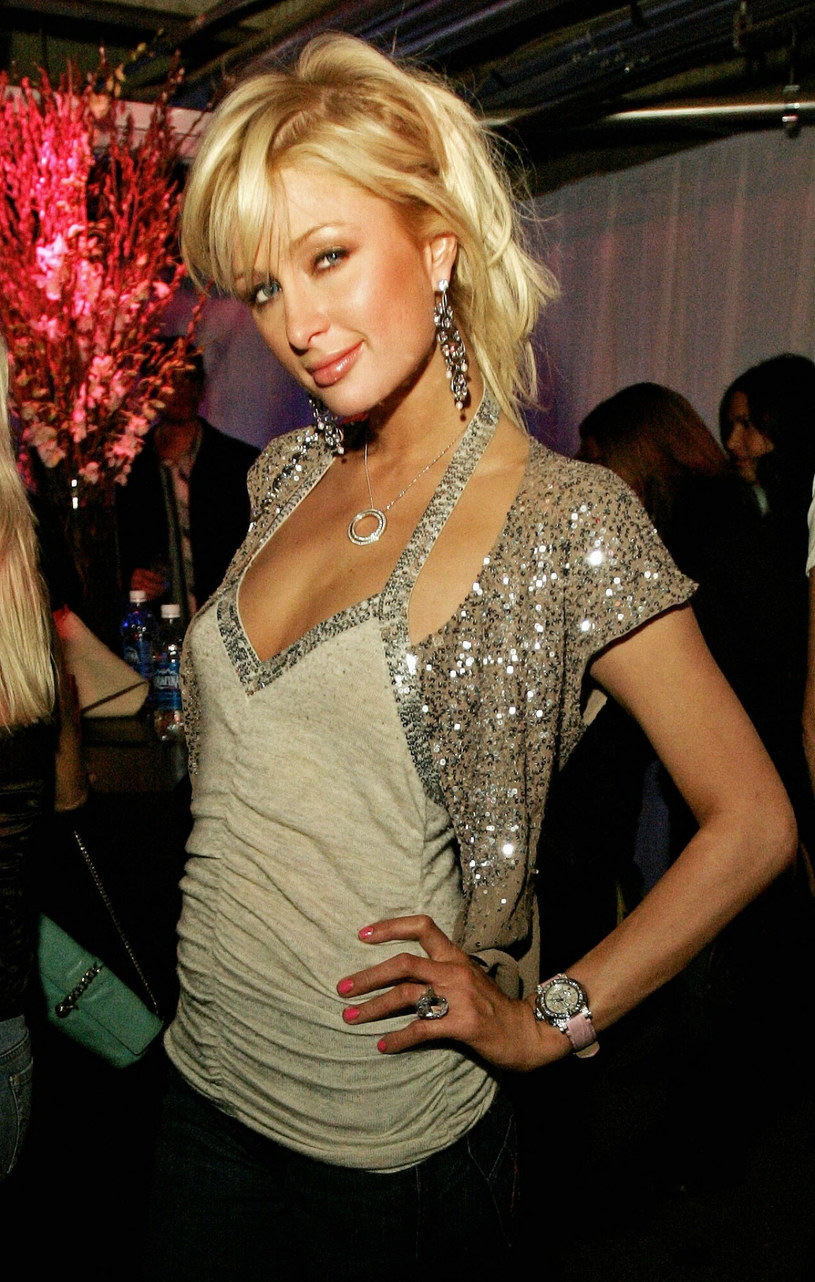 Paris Hilton w 2005 roku /Associated Press /East News