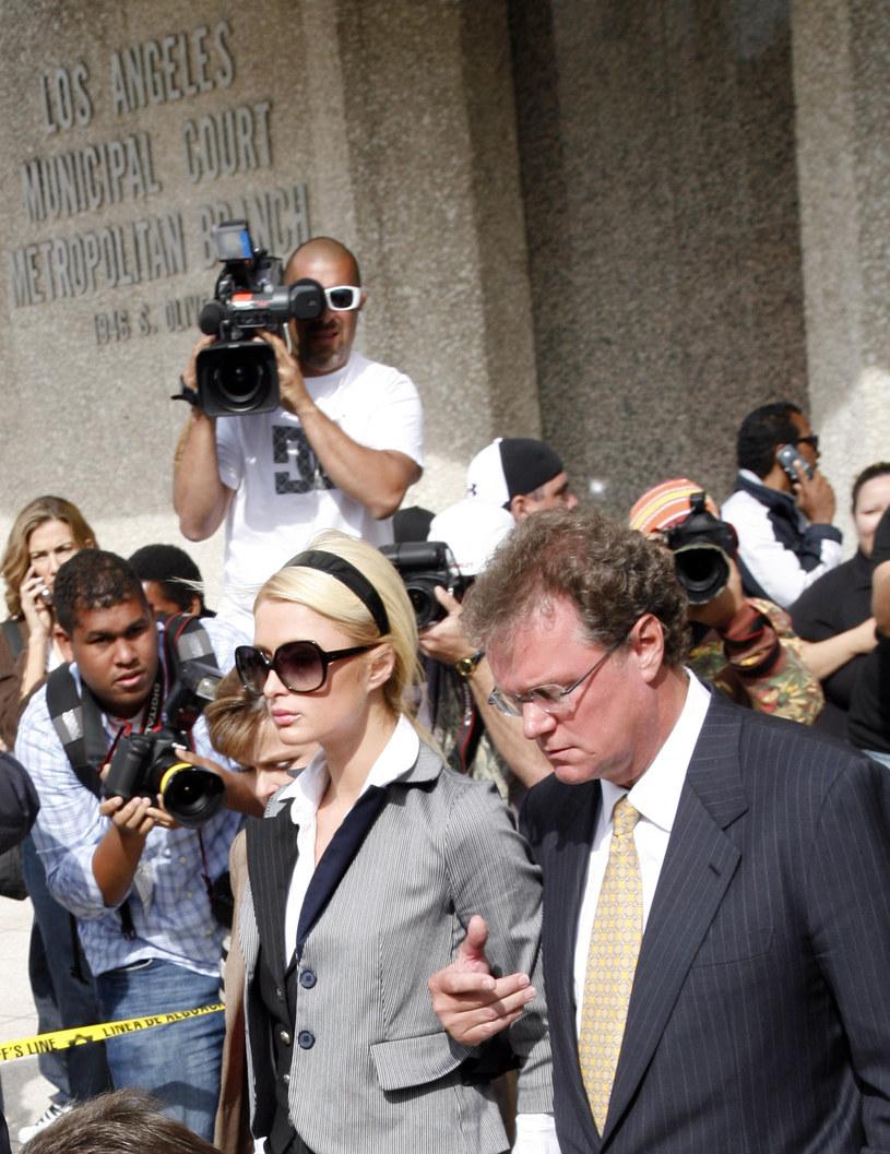 Paris Hilton w sądzie /Jean Baptiste Lacroix /Getty Images
