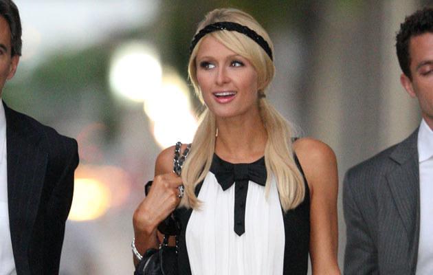 Paris Hilton wychodzi z sądu  /Splashnews